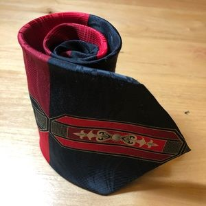 Royalty Inspired Design Vintage Necktie